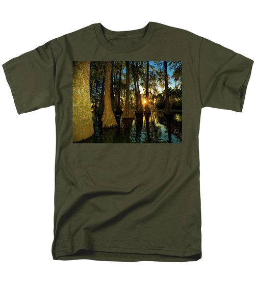 The Pow Wa Of The Light Men's T-Shirt  (Regular Fit) by Kimo Fernandez