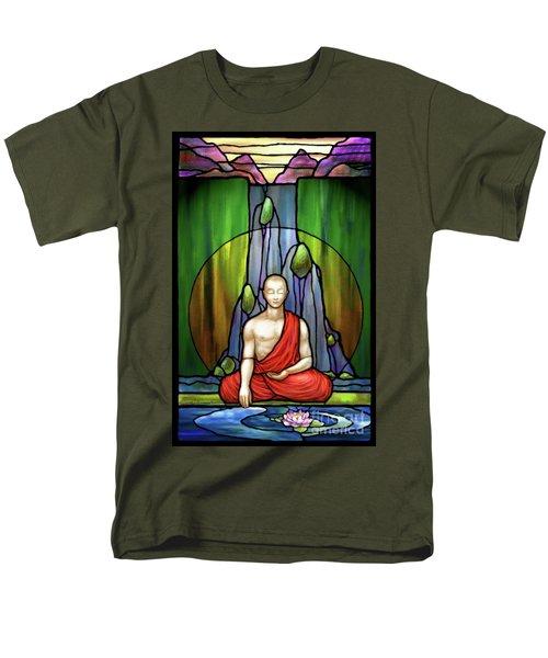 The Praying Monk Men's T-Shirt  (Regular Fit)