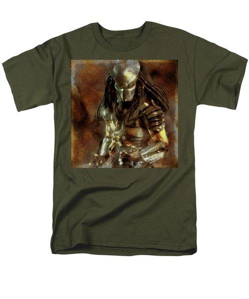 The Predator Scroll Men's T-Shirt  (Regular Fit) by Mario Carini