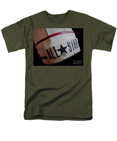 The Converse All Star Rear Label. Men's T-Shirt  (Regular Fit) by Don Pedro De Gracia