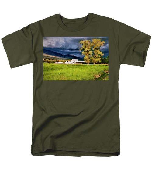 The Right Place At The Right Time Men's T-Shirt  (Regular Fit)