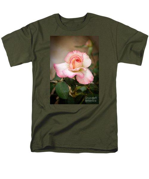The Rose Men's T-Shirt  (Regular Fit) by Janice Rae Pariza