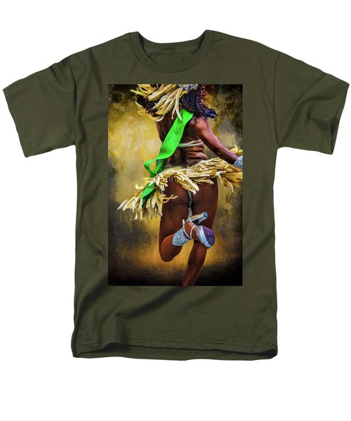 Men's T-Shirt  (Regular Fit) featuring the photograph The Samba Dancer by Chris Lord