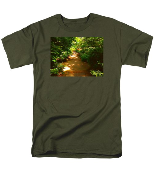 The Secret Path Men's T-Shirt  (Regular Fit) by Becky Lupe
