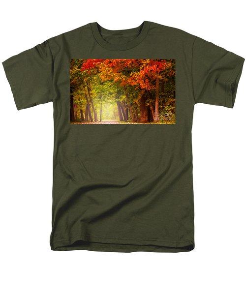 The Secret Place Men's T-Shirt  (Regular Fit) by Rima Biswas