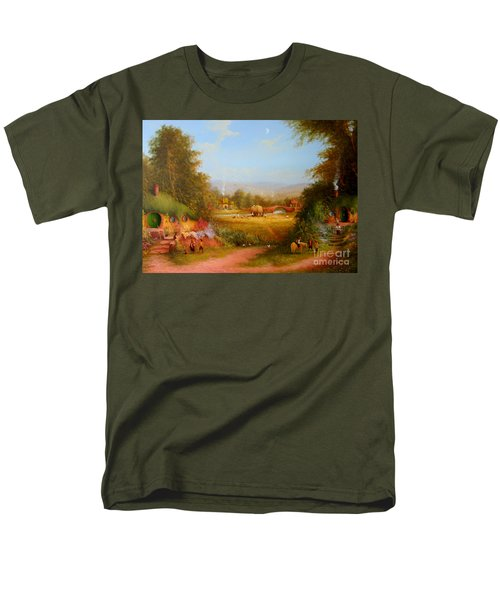 The Shire. Men's T-Shirt  (Regular Fit) by Joe  Gilronan