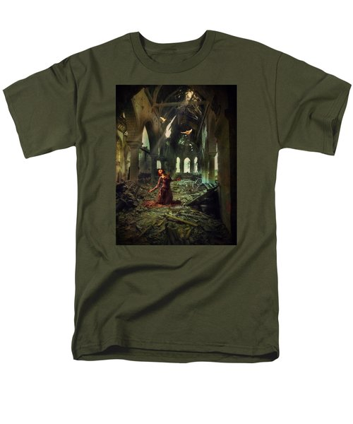 Men's T-Shirt  (Regular Fit) featuring the photograph The Soul Cries Out by John Rivera