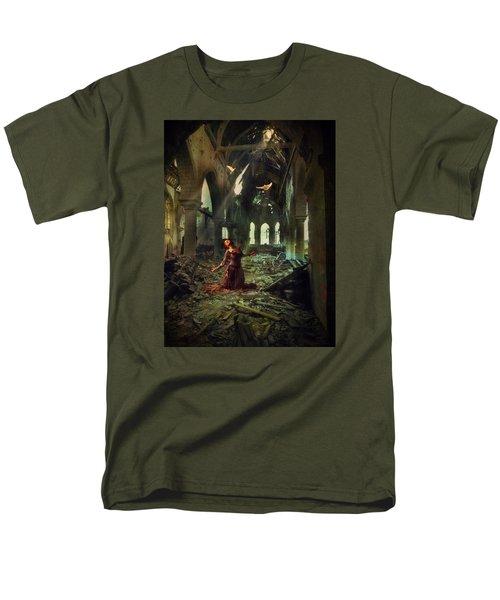 The Soul Cries Out Men's T-Shirt  (Regular Fit) by John Rivera