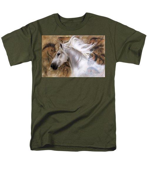 The Source II Men's T-Shirt  (Regular Fit) by Sandi Baker