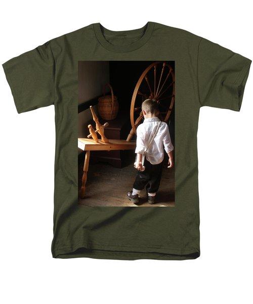 The Spinning Wheel Men's T-Shirt  (Regular Fit)