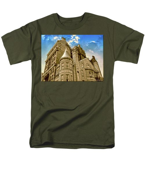 Men's T-Shirt  (Regular Fit) featuring the photograph The Stafford Hotel by Brian Wallace