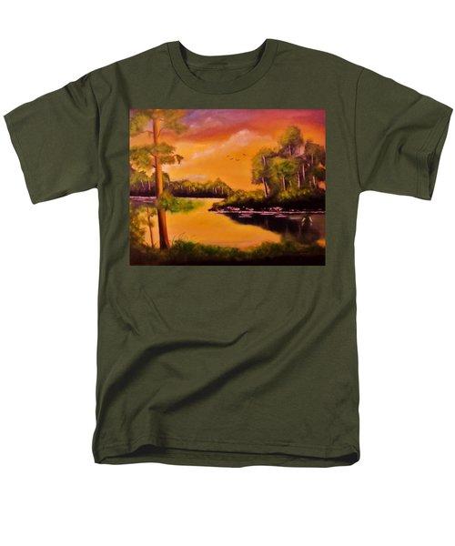 The Swamp Men's T-Shirt  (Regular Fit) by Manuel Sanchez