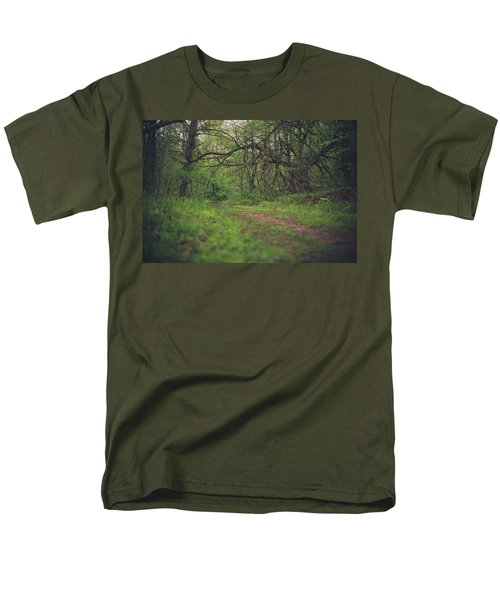 Men's T-Shirt  (Regular Fit) featuring the photograph The Taking Tree by Shane Holsclaw