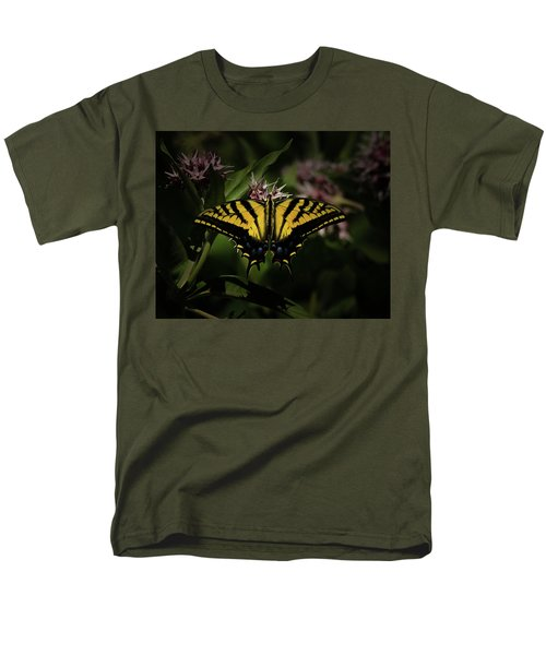 The Tiger Swallowtail Men's T-Shirt  (Regular Fit) by Ernie Echols