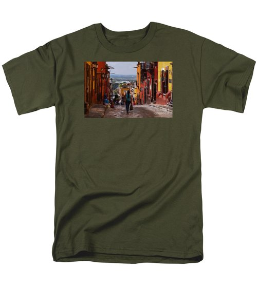 The Top Of Calle Umaran Men's T-Shirt  (Regular Fit) by John  Kolenberg