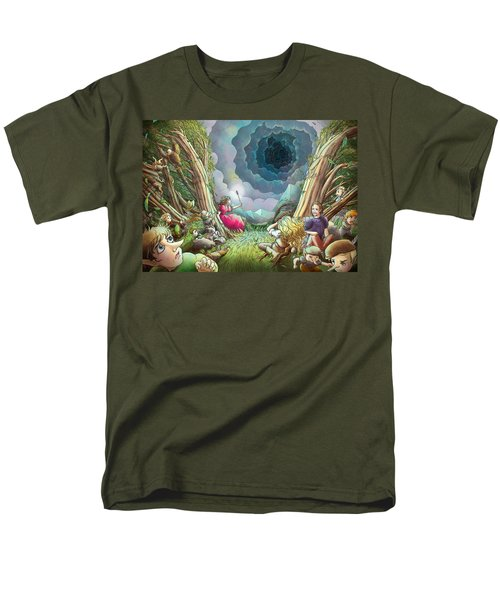 The Wave Of Space And Time Men's T-Shirt  (Regular Fit) by Reynold Jay