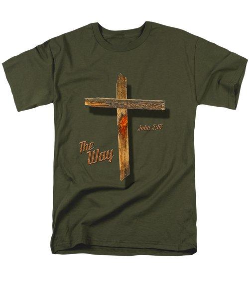 The Way  T Shirt Men's T-Shirt  (Regular Fit) by Larry Bishop