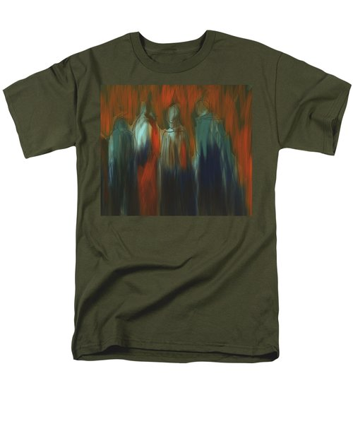 Men's T-Shirt  (Regular Fit) featuring the painting There Were Four by Jim Vance