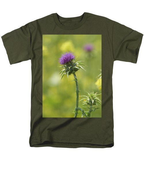 Thistle And Mustard Men's T-Shirt  (Regular Fit) by Doug Herr