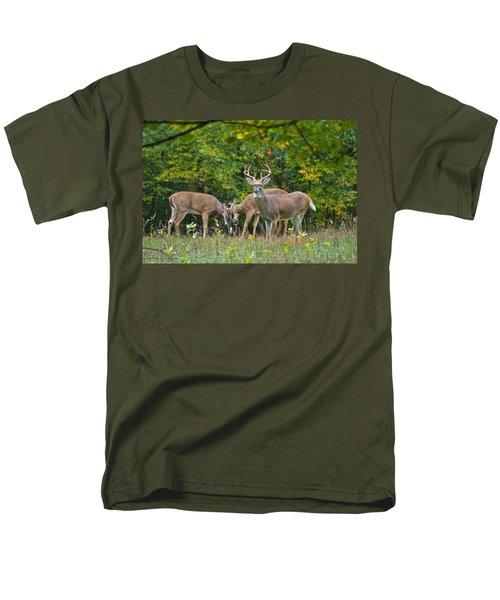 Three Bucks_0054_4463 Men's T-Shirt  (Regular Fit) by Michael Peychich