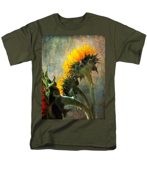 Three Men's T-Shirt  (Regular Fit) by John Rivera
