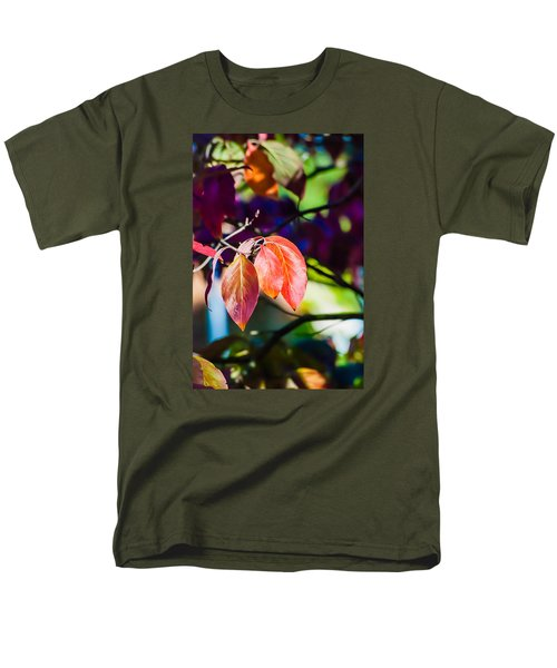Three Leaves - 9583 Men's T-Shirt  (Regular Fit) by G L Sarti
