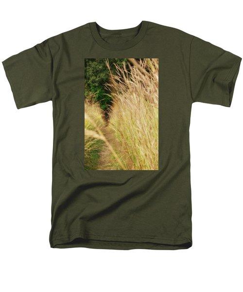 Men's T-Shirt  (Regular Fit) featuring the photograph Through The Tall Grass by Nikki McInnes
