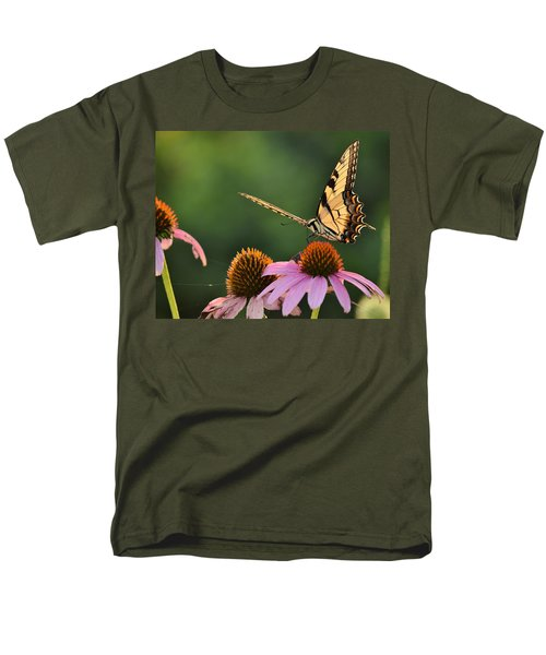 Tiger Swallowtail Men's T-Shirt  (Regular Fit) by JD Grimes
