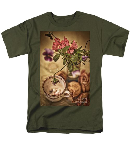 Time Stands Still Men's T-Shirt  (Regular Fit) by Kate Purdy