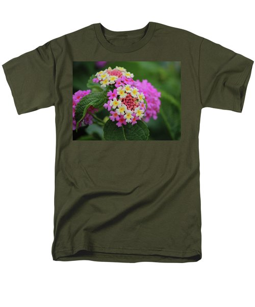 Tiny Bouquets Men's T-Shirt  (Regular Fit) by Rowana Ray