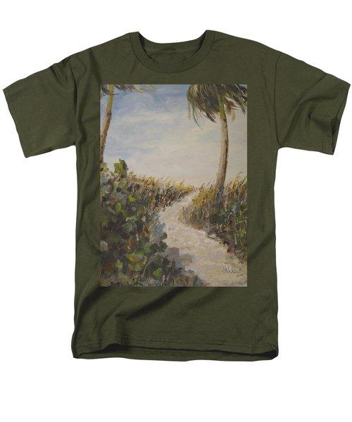 To The Beach Men's T-Shirt  (Regular Fit) by Alan Lakin
