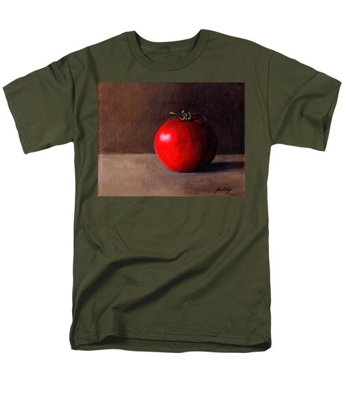 Men's T-Shirt  (Regular Fit) featuring the painting Tomato Still Life 1 by Janet King
