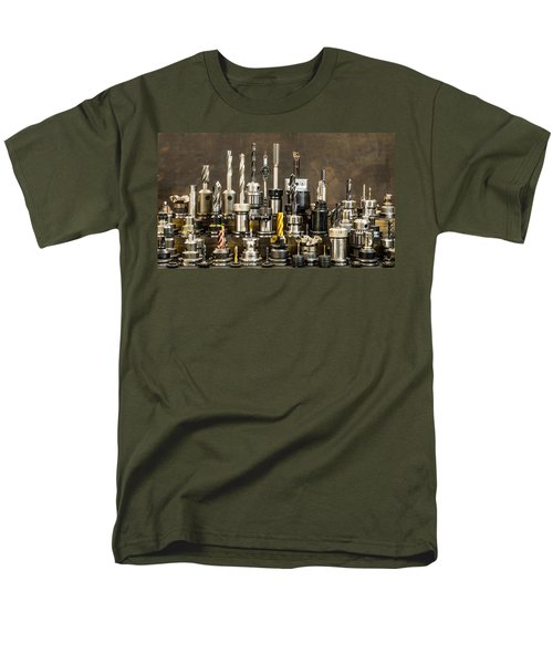 Toolmakers Cutting Tools Men's T-Shirt  (Regular Fit) by Paul Freidlund