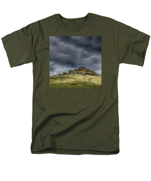 Top Of The Mountain Men's T-Shirt  (Regular Fit) by Mary Angelini