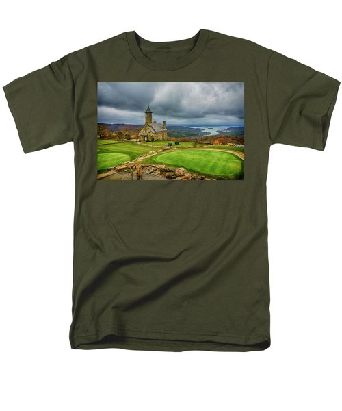 Top Of The Rock Branson Mo 7r2_dsc2627_16-11-25 Men's T-Shirt  (Regular Fit) by Greg Kluempers