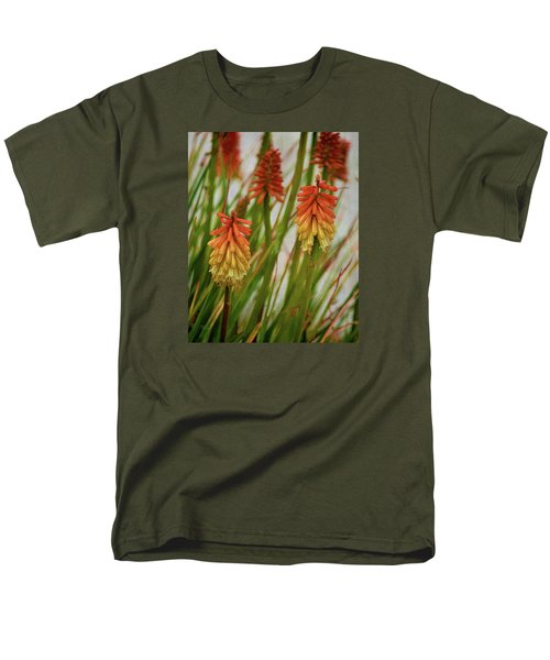 Torch Lily At The Beach Men's T-Shirt  (Regular Fit) by Sandi OReilly