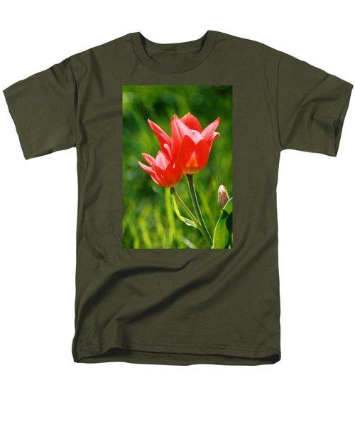 Toronto Tulip Men's T-Shirt  (Regular Fit) by Steve Karol