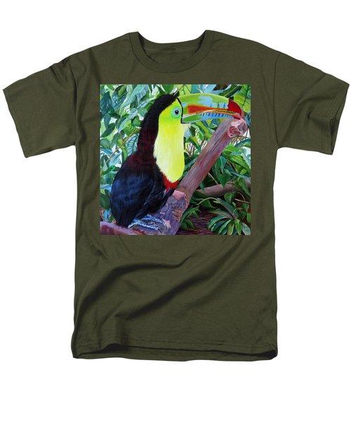 Toucan Portrait 2 Men's T-Shirt  (Regular Fit)
