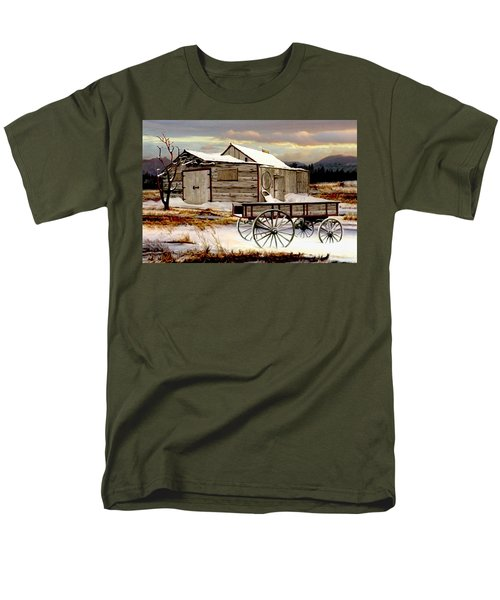 Touch Of Spring Men's T-Shirt  (Regular Fit) by Ron and Ronda Chambers