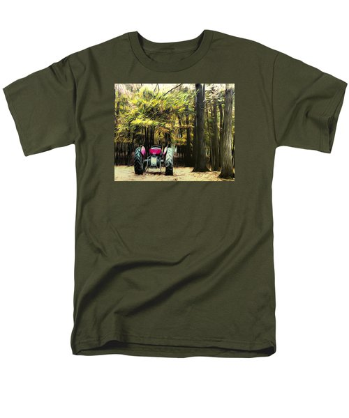 Men's T-Shirt  (Regular Fit) featuring the photograph Tractor by Carlee Ojeda