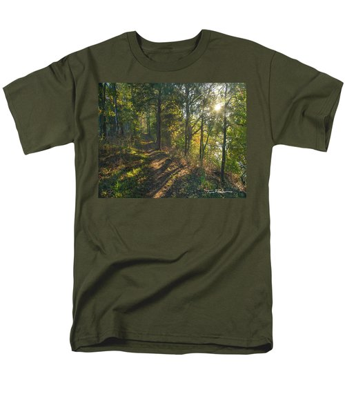 Trail Men's T-Shirt  (Regular Fit) by Tim Fitzharris