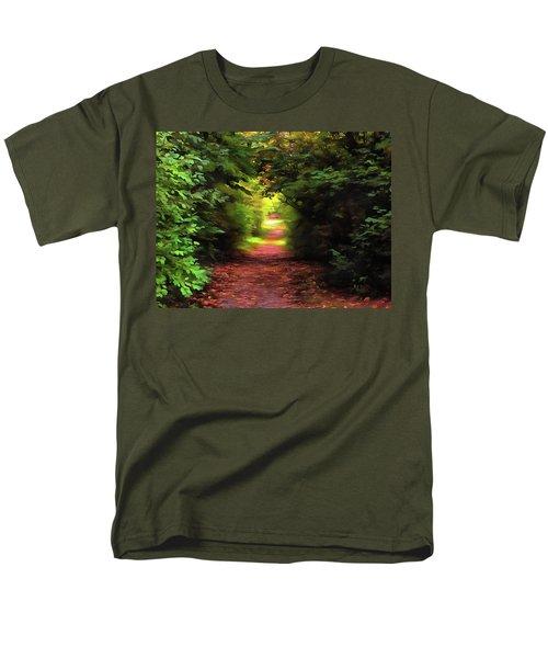 Tranquil Pond Men's T-Shirt  (Regular Fit) by Cedric Hampton