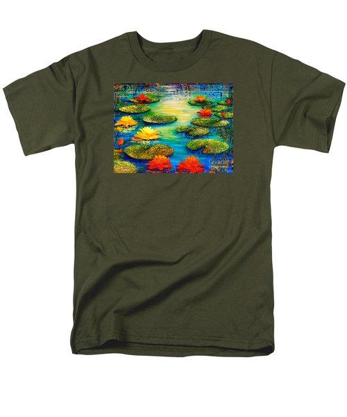 Tranquility 3 Men's T-Shirt  (Regular Fit)