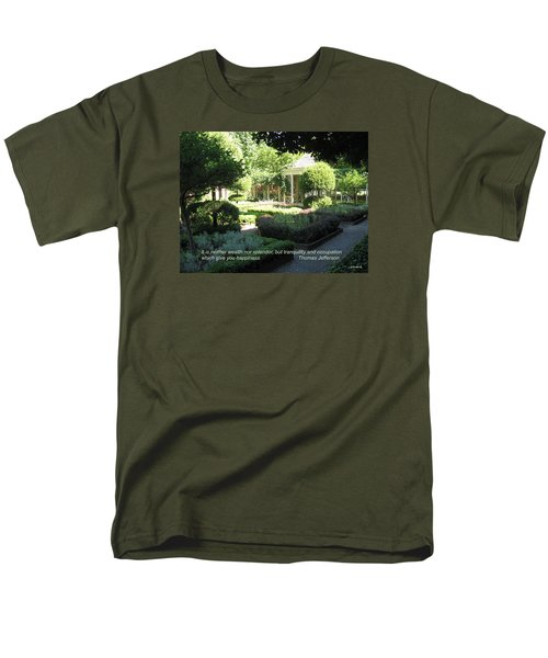 Tranquility And Occupation Men's T-Shirt  (Regular Fit) by Deborah Dendler
