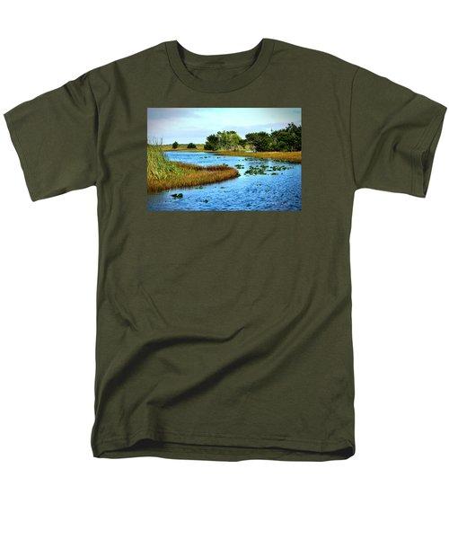 Tranquility... Men's T-Shirt  (Regular Fit) by Edgar Torres
