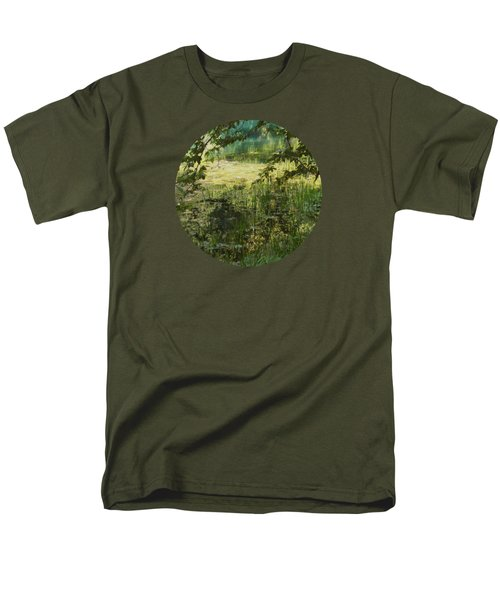 Tranquility Men's T-Shirt  (Regular Fit) by Mary Wolf