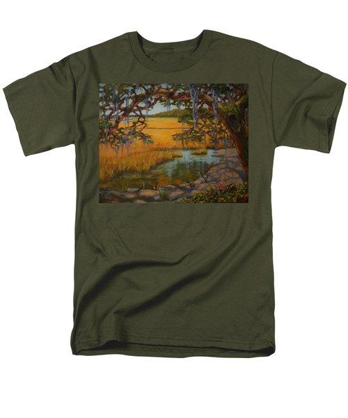 Transition  Men's T-Shirt  (Regular Fit) by Dorothy Allston Rogers