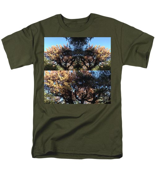 Tree Chandelier Men's T-Shirt  (Regular Fit) by Nora Boghossian