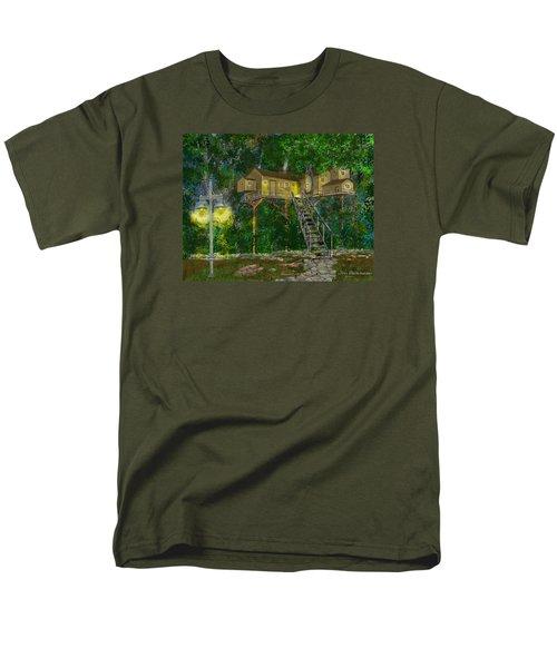 Tree House #10 Men's T-Shirt  (Regular Fit) by Jim Hubbard