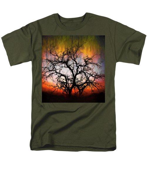 Tree Of Fire Men's T-Shirt  (Regular Fit)